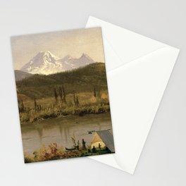 Albert Bierstadt - Mount Baker, Washington, from the Frazier River Stationery Cards