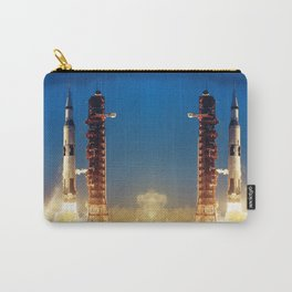 """Apollo Saturn V """"LIFTOFF"""" 1967 Carry-All Pouch"""
