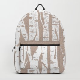 Woodcut Birches Backpack