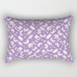 Control Your Game - Bellflower Rectangular Pillow