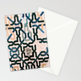 Alhambra Tiles. Stationery Cards