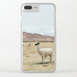 Alpaca Clear iPhone Case