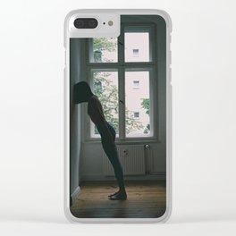Sleepwalking Clear iPhone Case