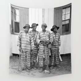 Southern Chain Gang Photo - 1903 Wall Tapestry