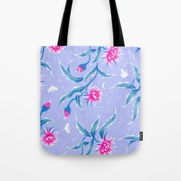 Queen of the Night - Mauve / Pink Tote Bag