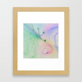 Tender feelings Framed Art Print