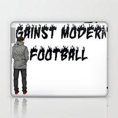 AGAINST MODERN FOOTBALL Laptop & iPad Skin
