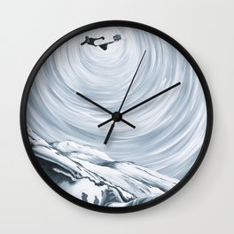 Ingmar Backman - That Backside Air Wall Clock