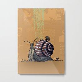 Snail level 2 Metal Print