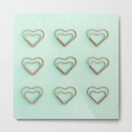 Little Hearts Metal Print