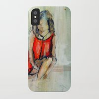 child iPhone & iPod Cases featuring child by Marilina Marchica