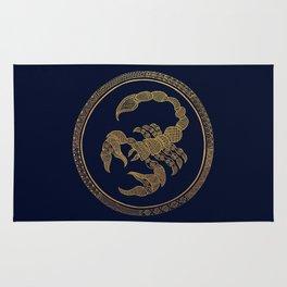 Golden Zodiac Series - Scorpio Rug