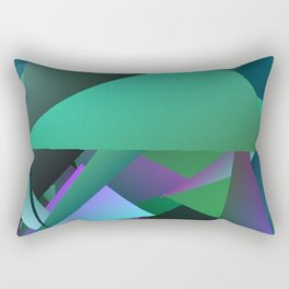 Beach Glass 3 Rectangular Pillow
