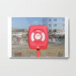 Lifebelt 02 Metal Print
