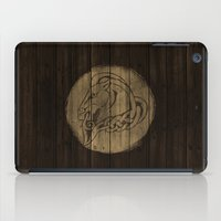 skyrim iPad Cases featuring Shield's of Skyrim - Whiterun by VineDesign