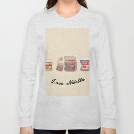 Nutella-324 Long Sleeve T-shirt