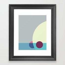 Cacho Shapes LXXXI Framed Art Print