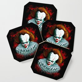 The Dancing Clown - Pennywise IT - Vector - Stephen King Character Coaster