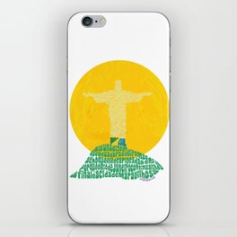 Cristo Redentor - Rio de Janeiro iPhone Skin
