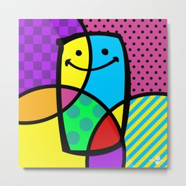 POP ART. Metal Print