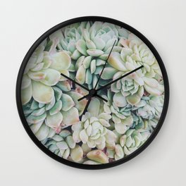 Primrose Green Wall Clock