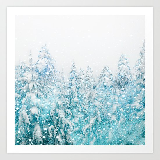 Snowy Pines by nadja1