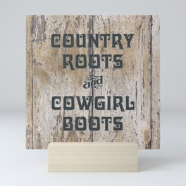 COUNTRY ROOTS... Mini Art Print