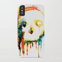 Happy/Grim iPhone Case