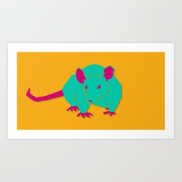 Big Rat Art Print