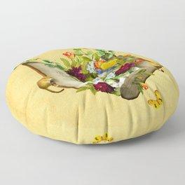 Secret Garden Floor Pillow