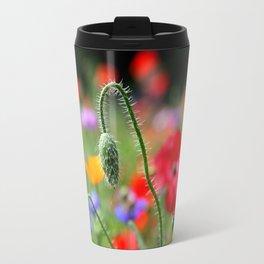 wild poppies Travel Mug