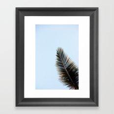Palmera Framed Art Print