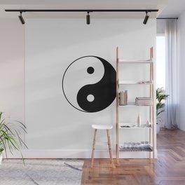 Yin Yang Taijitu Symbol Wall Mural