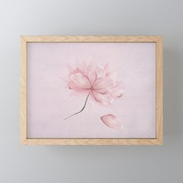 Flower dance Framed Mini Art Print