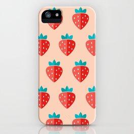 Nairi Diary's Strawberry Jam iPhone Case