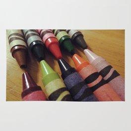 Crayon Closeup Rug