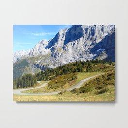 Winding Road Metal Print