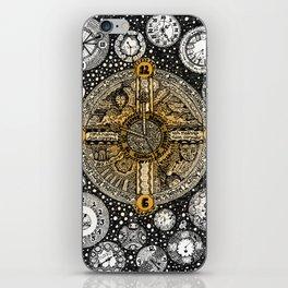 Clocks Lyrical Doodle iPhone Skin