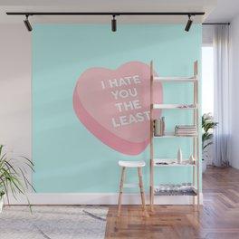 Candy Heart Wall Mural