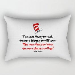The Dr.'s Advice. Rectangular Pillow
