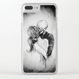Dead to Me Clear iPhone Case