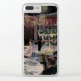 Allison & Brandon's Wedding Clear iPhone Case