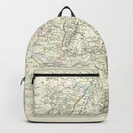 Vintage Map - Spruner-Menke Handatlas (1880) - 35 Schwabia Backpack