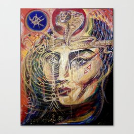 Goddess Isis Canvas Print