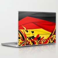 germany Laptop & iPad Skins featuring Germany by Danny Ivan