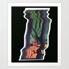 Escanografía 3 Art Print