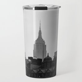 Empire State Building Manhattan in New York City Travel Mug