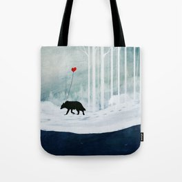 WOLF - A Love Always Carried  Tote Bag