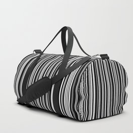 Stripes Collection: Barcode Duffle Bag