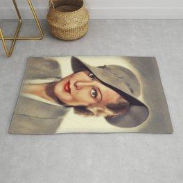 Madeleine Carroll, Vintage Actress Rug